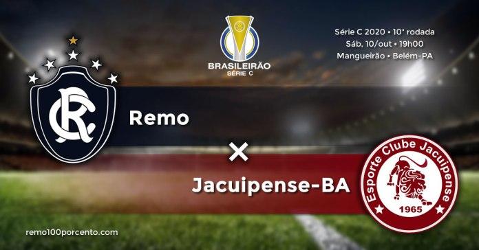 Remo × Jacuipense-BA