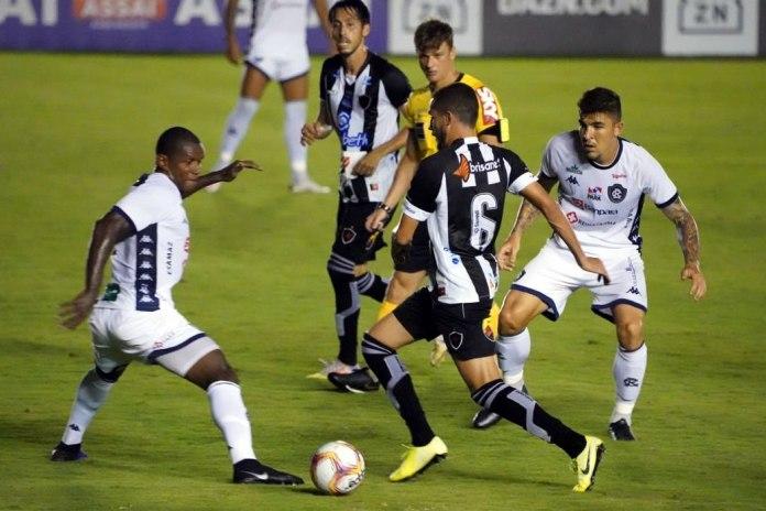 Botafogo-PB 0×0 Remo (Mimica e Charles)