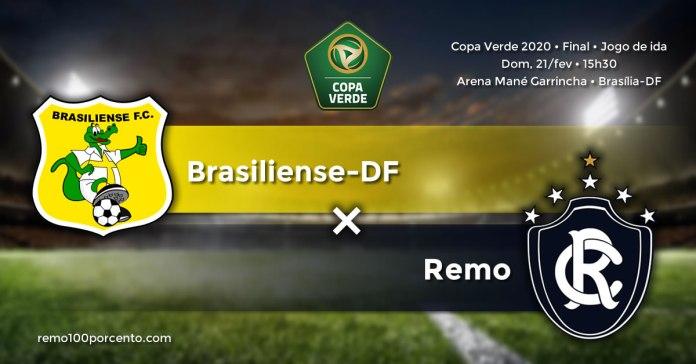 Brasiliense-DF × Remo