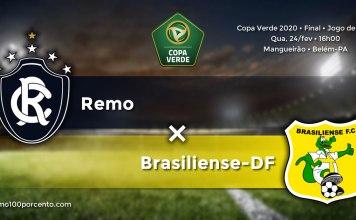 Remo × Brasiliense-DF