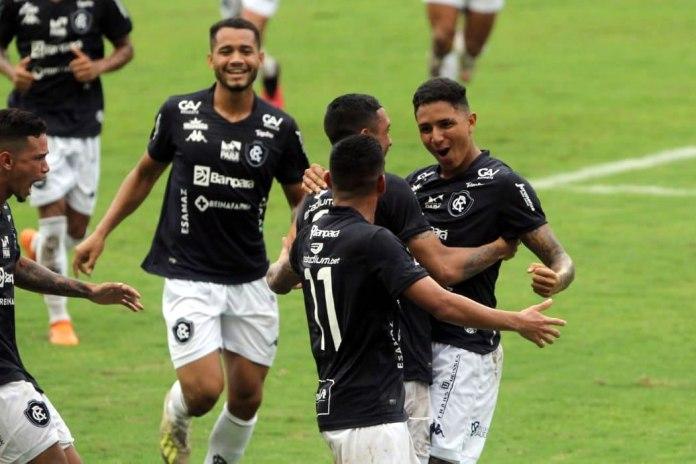 Remo 6×2 Manaus-AM (Fredson, Warley, Hélio Borges, Wallace e Tiago Miranda)