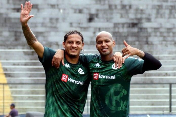 Felipe Gedoz e Wellington Silva