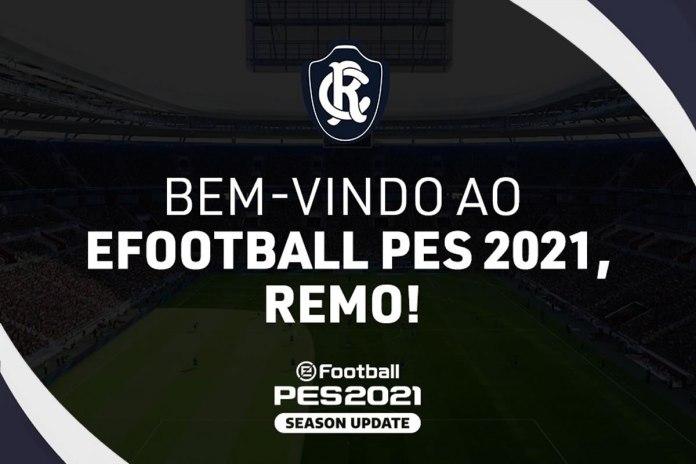 Remo entra no PES 2021 e torcedores comemoram