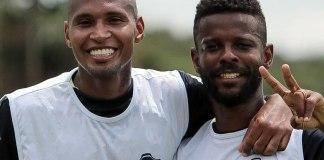 Wellington Silva e Erick Flores