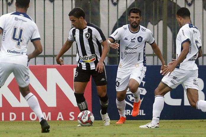Botafogo-RJ 3×0 Remo (Rafael Jansen, Marlon e Anderson Uchôa)
