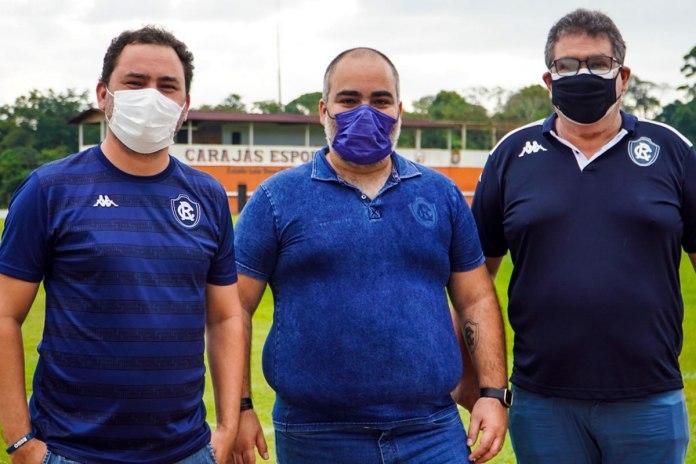 Glauber Gonçalves, Fábio Bentes e Antônio Carlos Teixeira (Tonhão)