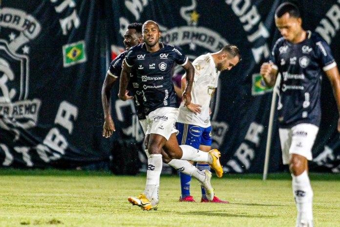 Remo 1×0 Cruzeiro-MG (Igor Fernandes, Victor Andrade e Anderson Uchôa)