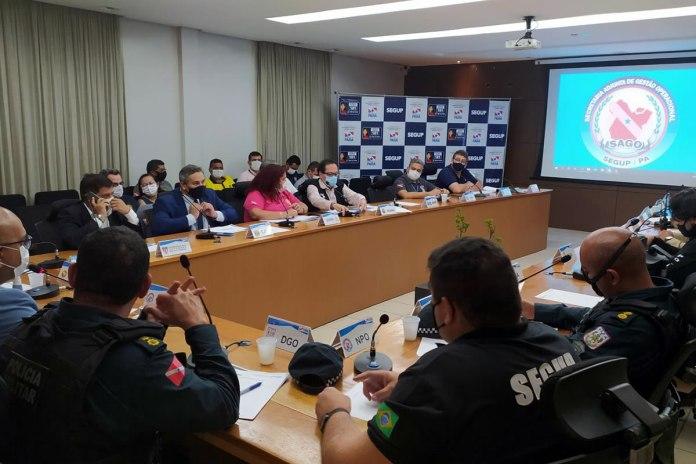 Reunião apresentou o protocolo de segurança para acesso ao Baenão