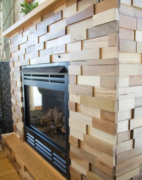 Fireplace Paneling