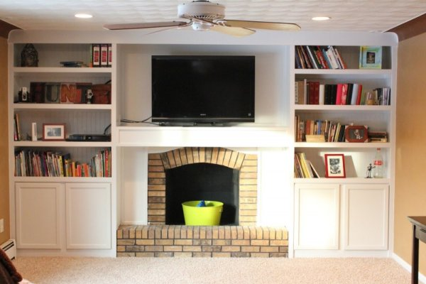 yourself fireplace before do diy htm remodels morgan it remodel