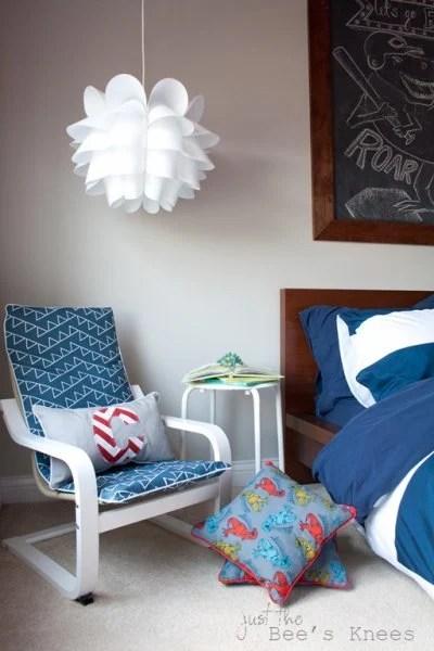 Slipcovered Children's Chair