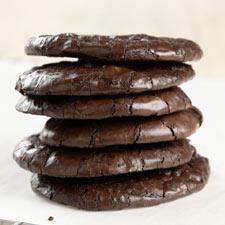 Flourless Chewy Chocolate Walnut Cookies