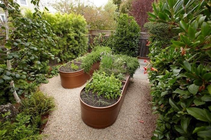 Bronze Water Trough Beds