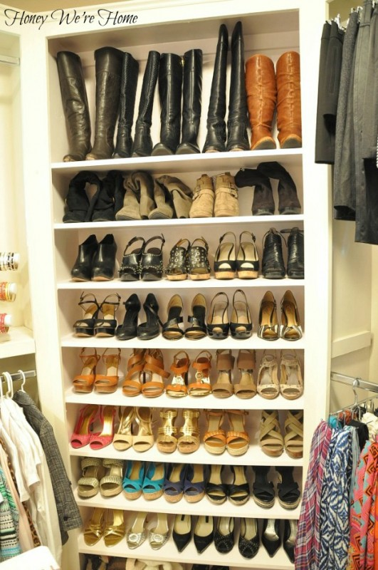 Organizing Your Shoes