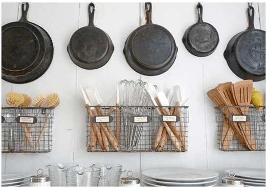 Organizing Kitchen Tools