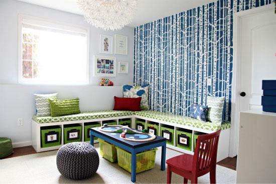 An Organized Playroom