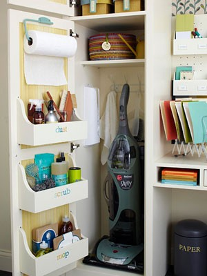 Organizing Your Cleaning Supplies