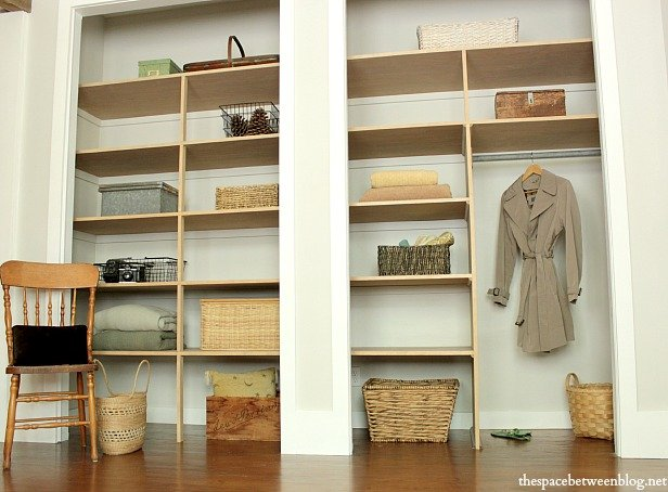 Exceptionnel Wall To Wall Closet Shelves
