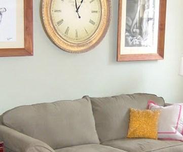 Living Room; Retro Remodel