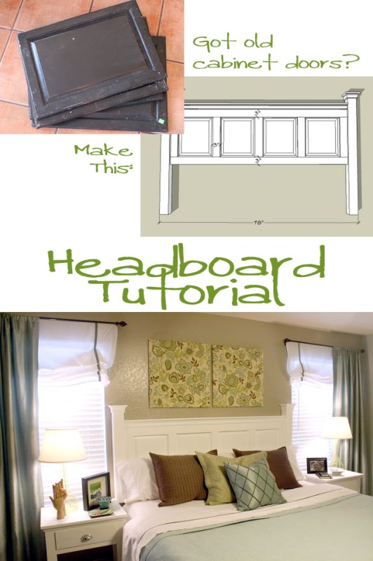 Remodelaholic Head Of The Board Headboard Tutorial