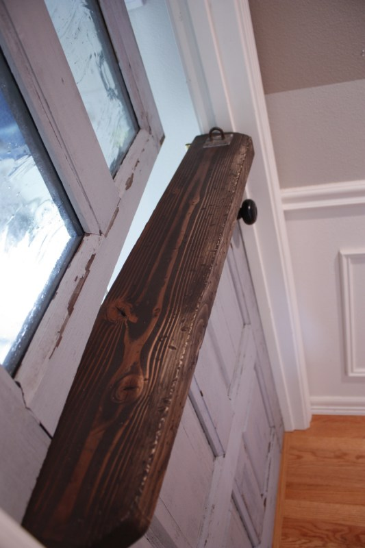 1 Dutch split door DIY by Its the Little Things featured on @Remodelaholic
