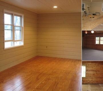 plywood flooring tutorial