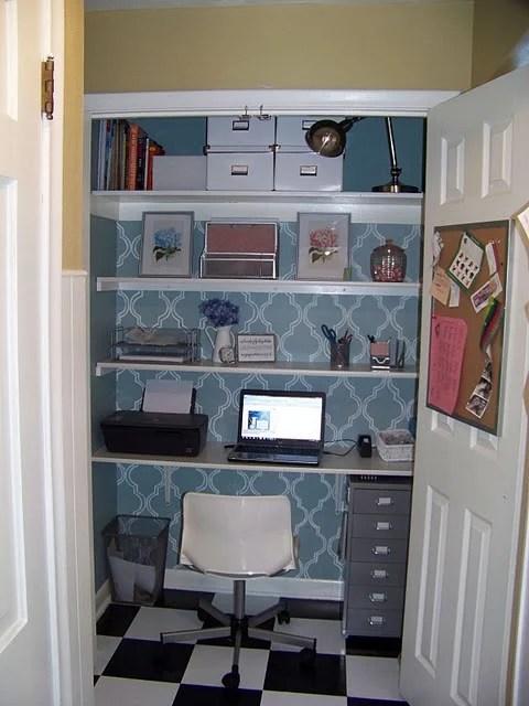 Merveilleux Computer Closet Office Remodel