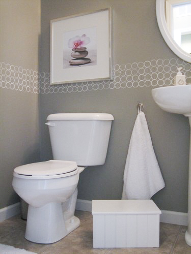 Modern Bathroom Budget Paint Idea-4