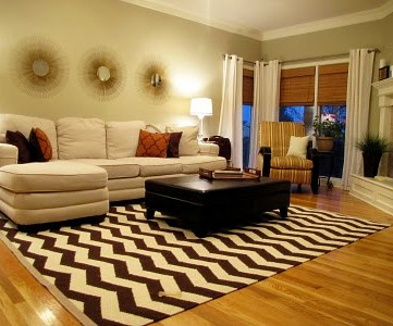 Living Room Before and Beautiful After