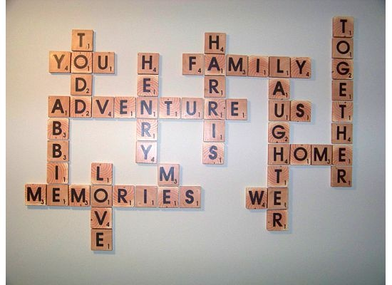 family names art project