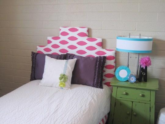 little girls upholstered bed 13