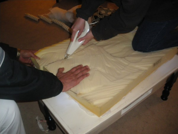 Ottoman Uphostery tutorial (7)