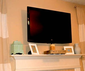 Wall Mount Your Flat Screen TV for Under $15 Dollars