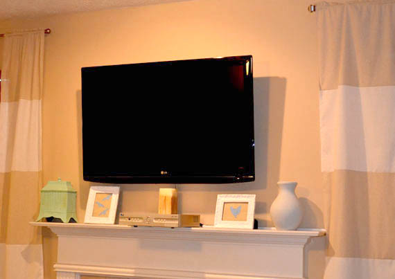 flat screen tv remodelaholic wall mount your flat screen tv for 13086