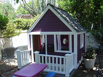 playhouse makeover