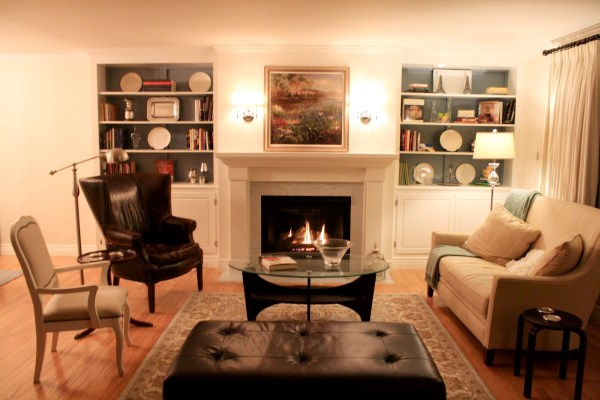 Remodelaholic | Living Room Remodel, Adding a Fireplace and Built in ...