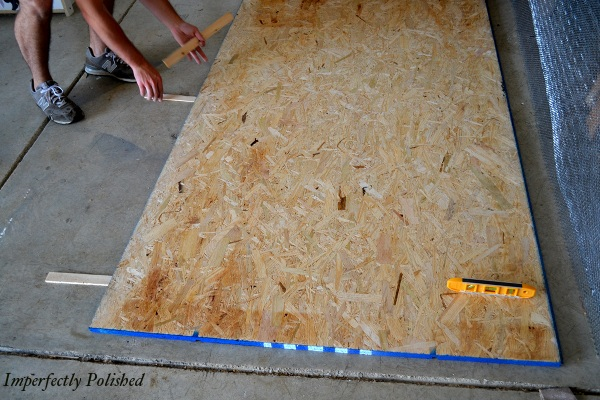 DIY Concrete Countertops, Building The Frames, By Imperfectly Polished Featured On @Remodelaholic