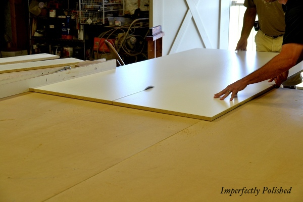 How To Build And Install Concrete Countertops And Molding, By Imperfectly Polished Featured On @Remodelaholic