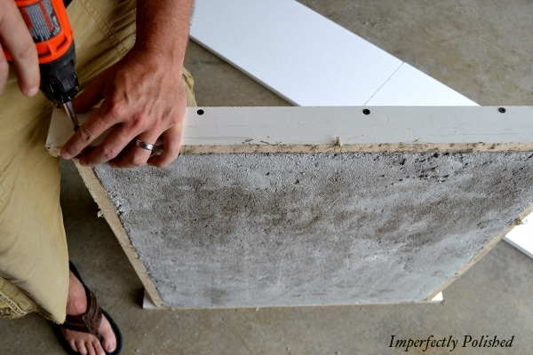 Remodel Your Kitchen With DIY Concrete Countertops, By Imperfectly Polished Featured On @Remodelaholic