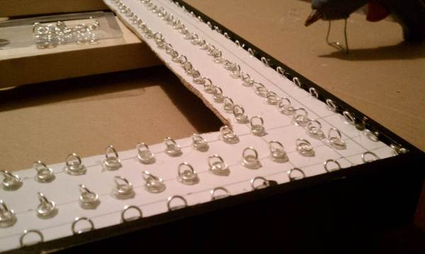 diy faux capiz chandelier 23