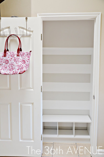 11 How To Contain The Clutter In Your Entryway A DIY Solution By The 36th Avenue Featured On @Remodelaholic