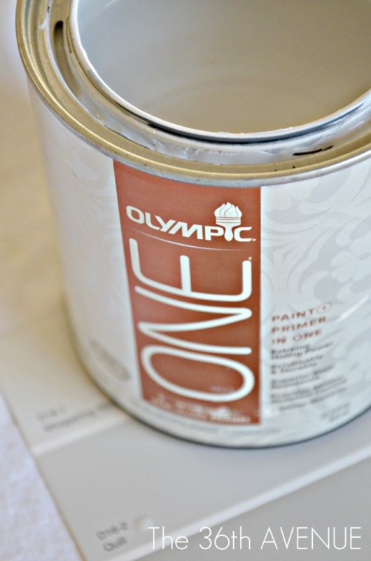 9 Olympic Paint From Lowes Color Quilt For Entry Way Closet Redo By The 36th Avenue Featured On @Remodelaholic