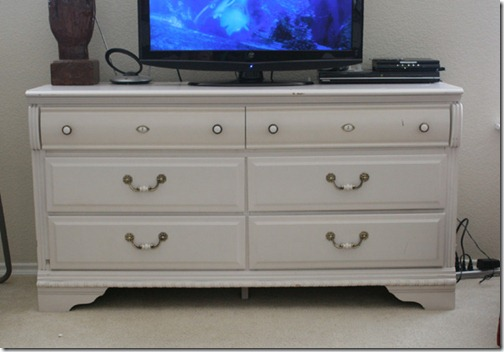old dresser tv stand
