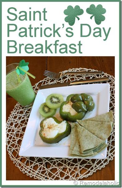 saint patricks day breakfast