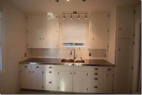 Remodelaholic Affordable Stainless Steel Countertops Diy