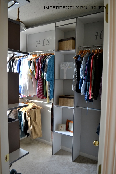 Remodelaholic Neglected Corner Turned Boutique Style Closet