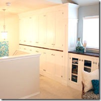 remodelaholic familyroom custom cabinets
