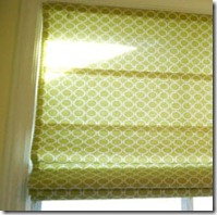 roman shade from mini blind