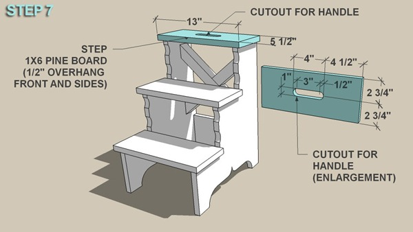 Stepping Stool step 7