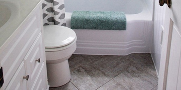 grouted peel and stick floor tiles